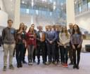 Kulak-studenten op bezoek in Europees Parlement